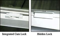 hidden lock system