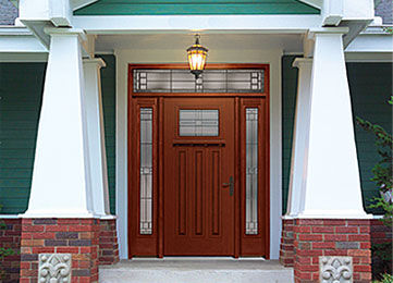 Entry doors french doors and patio doors installed by for Therma tru fiber classic mahogany price