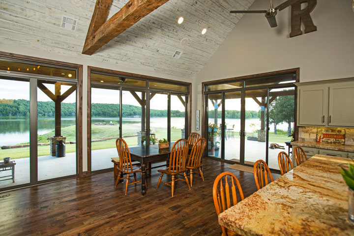 (above And Below) Series 9900 Sliding Glass Doors With Our Custom Transom  Windows