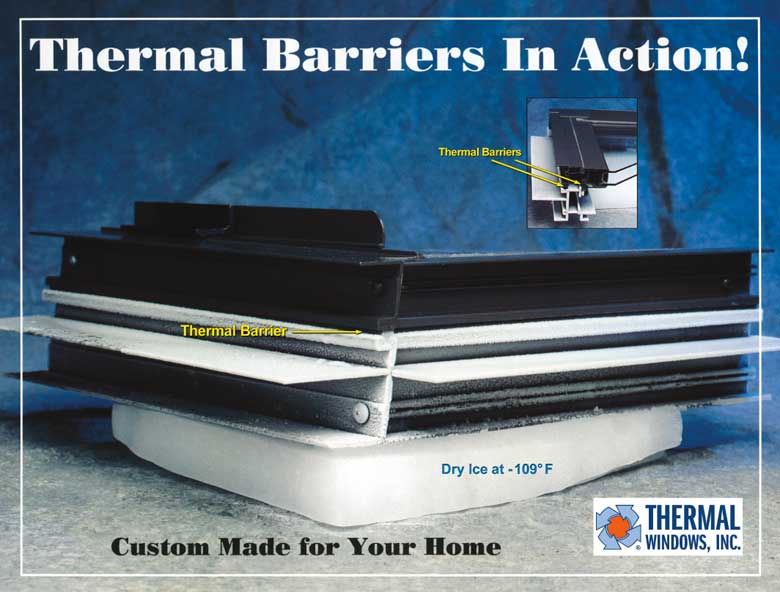 What is a thermal barrier thermal windows inc for Thermal windows
