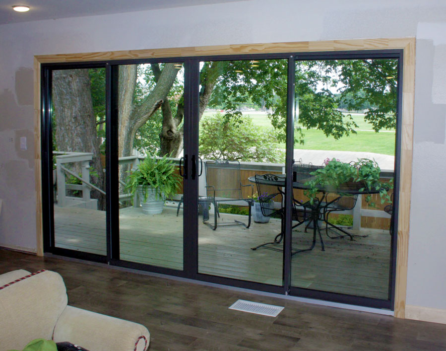 Before And After Patio Door Transformation Thermal Windows Inc